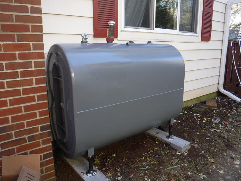 aboveground oil tank