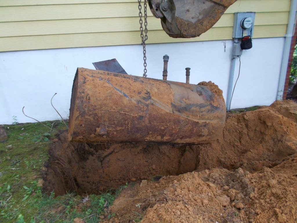 Insurance Buried Oil Tank