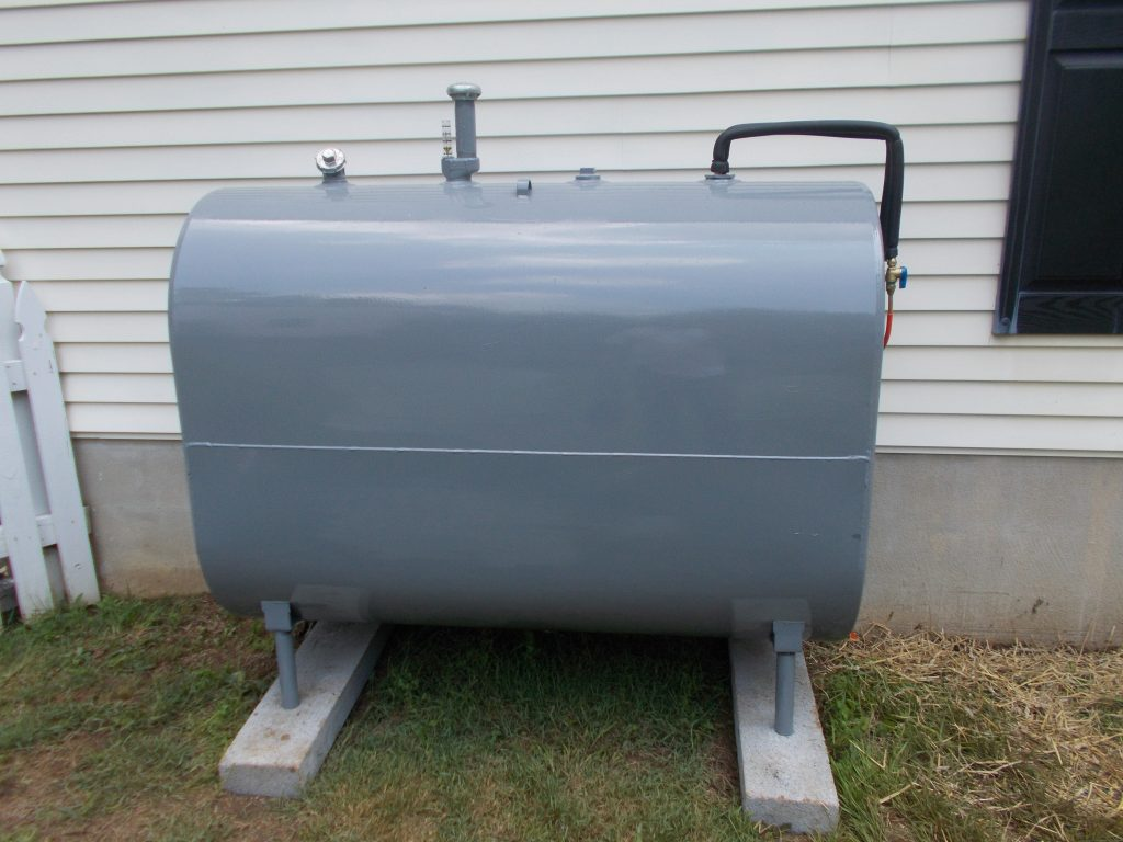 what are heating oil tanks made from