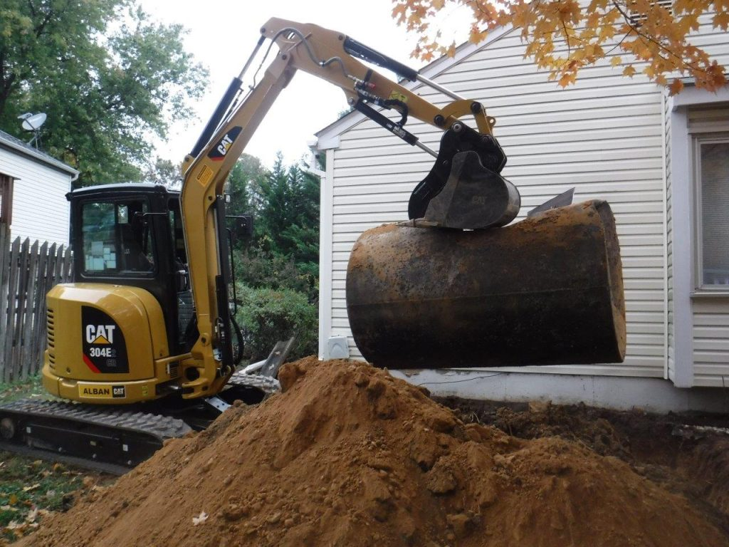 heating Oil Tank Removal in Clarksville, MD